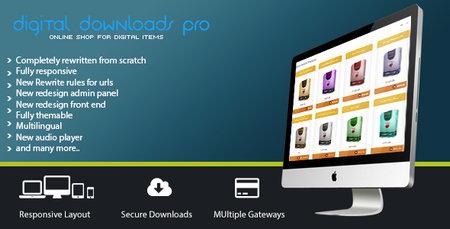 اسکریپت دانلود به ازای پرداخت Digital Download Pro نسخه 3.10