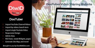 اسکریپت ایجاد وبسایت اشتراک گذاری ویدئو با DooTuber فارسی