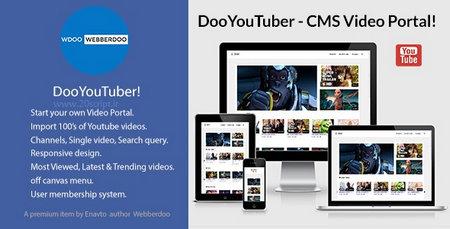 اسکریپت ایجاد پورتال ویدیو با DooYouTuber