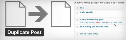 تکثیر کردن از یک نوشته یا برگه در وردپرس با افزونه Duplicate Post