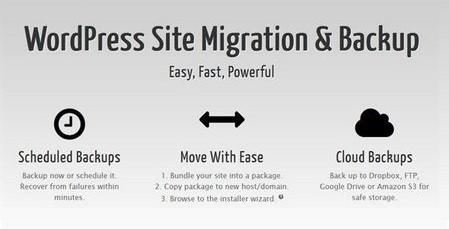 افزونه پشتیبان گیری و انتقال سایت وردپرسی Duplicator Pro نسخه ۳٫۷٫۳٫۱