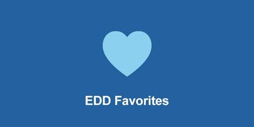 ایجاد لیست علاقهمندی محصولات در Edd با افزونه EDD Favorites