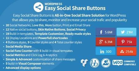 افزونه دکمه اشتراگ گذاری مطالب در شبکه های اجتماعی نسخه 2.0.1