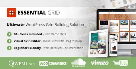 افزونه وردپرس ساخت گرید Essential Grid v2.0.1