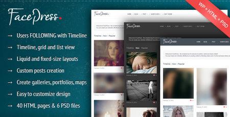 با پوسته FacePress جامعه مجازی وردپرسی راه اندازی کنید