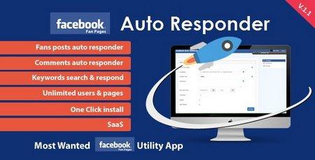 اسکریپت ارسال پاسخ خودکار به فیسبوک نسخه ۱.۱