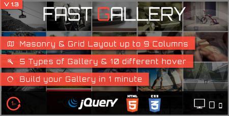 افزونه وردپرس ساخت گالری های حرفه ای با Fast Gallery