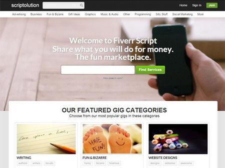 اسکریپت راه اندازی جامعه کسب و کار FiverrScript نسخه 7.5.1
