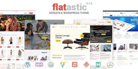 پوسته فروشگاهی Flatastic ووکامرس نسخه ۱٫۴٫۵