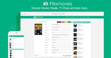 اسکریپت نقد و بررسی فیلم و سریال FlexMovies v.1.1