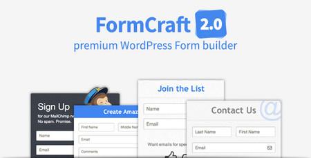 افزونه فرم ساز حرفه ای FormCraft نسخه ۲.۰.۷ برای وردپرس