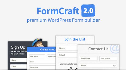 افزونه FormCraft ساخت فرم حرفه ای وردپرس