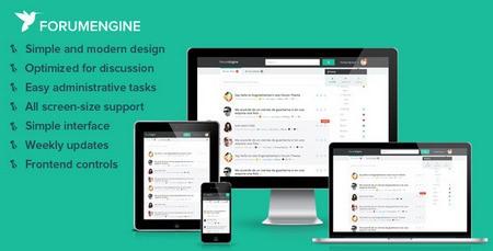 دانلود قالب تالار گفتگو ForumEngine نسخه ۱٫۵٫۶ برای وردپرس