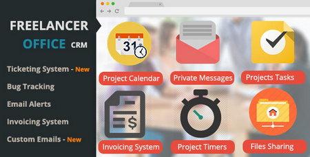 اسکریپت ارتباط با مشتری و مدیریت پروژه Freelancer Office