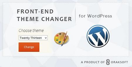 افزونه تغییر و انتخاب قالب توسط کاربران وردپرس Front end Theme Changer