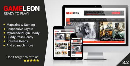 پوسته نقد و بررسی بازی Gameleon نسخه 3.2 برای وردپرس