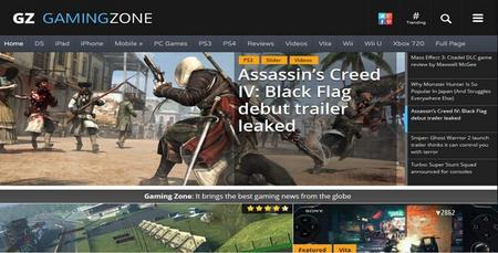 دانلود قالب نقد و بررسی بازی GamingZone برای وردپرس