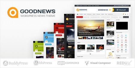 قالب خبری Goodnews نسخه 5.3 برای وردپرس