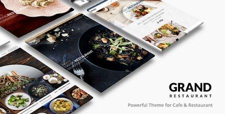 دانلود قالب وردپرس کافه و رستوران Grand Restauran نسخه ۱٫۶٫۲