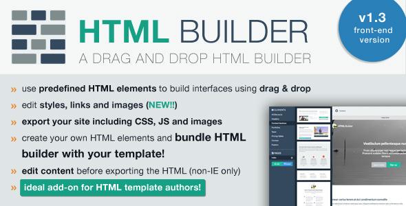 راه اندازی سایت ساز آنلاین با اسکریپت HTML Builder