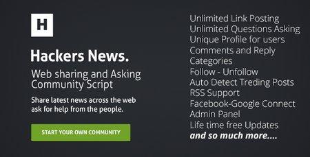 اسکریپت جامعه مجازی Hackers News نسخه 1.3