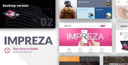 دانلود قالب وردپرس و چندمنظوره ایمپرزا Impreza نسخه 2.7