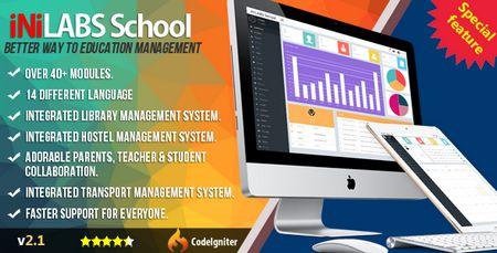 سیستم مدیریت مدرسه و آموزشگاه Inilabs School نسخه 2.1