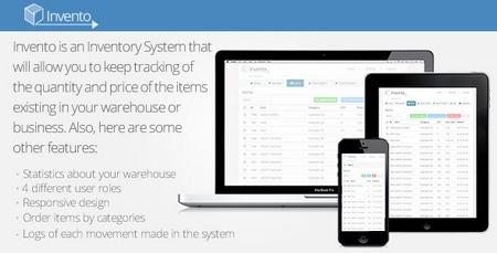 اسکریپت سیستم مدیریت انبارداری Invento نسخه 2.0