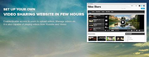 راه اندازی سایت اشتراک گذاری ویدیو با افزونه HD Video Share جوملا