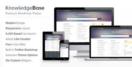 دانلود قالب دانشنامه Knowledge Base برای وردپرس