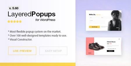 افزونه ایجاد پنجره پاپ آپ در وردپرس Layered Popups نسخه 6.43