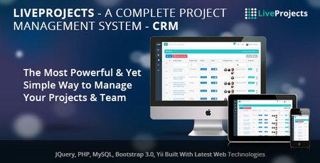 اسکریپت مدیریت پروژه LiveProjects نسخه 1.1