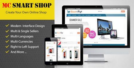 اسکریپت فروشگاه ساز هوشمند MC Smart Shop فارسی