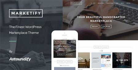 قالب وردپرس فروش محصولات دیجیتال Marketify نسخه 2.3.1