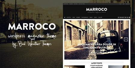 دانلود قالب مجله ای Marroco برای وردپرس