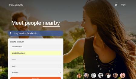اسکریپت جامعه مجازی دوستیابی MatchMe نسخه ۳٫۲