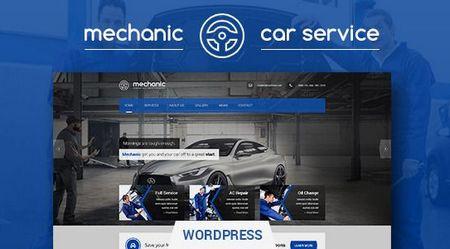 دانلود پوسته خدمات خودرو Mechanic برای وردپرس