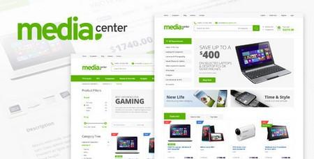 پوسته ووکامرس مدیاسنتر MediaCenter نسخه 2.1.1