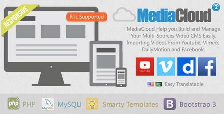 اسکریپت اشتراک گذاری ویدیو MediaCloud نسخه 2.1