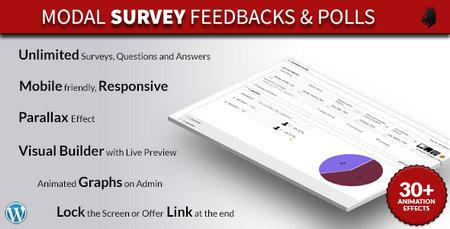 ایجاد نظرسنجی در وردپرس با افزونه Modal Survey