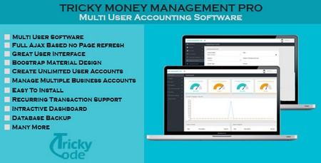 اسکریپت حسابداری آنلاین Money Management Pro