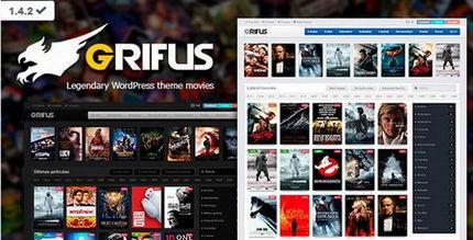 دانلود قالب وردپرس نقد و بررسی فیلم Grifus نسخه 3.0