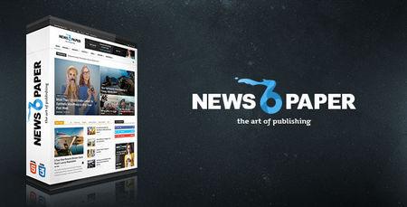 دانلود قالب مجله ای Newspaper نسخه 6.0 برای وردپرس