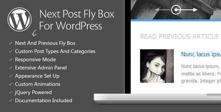 افزونه وردپرس Next Post Fly Box نسخه 3.0
