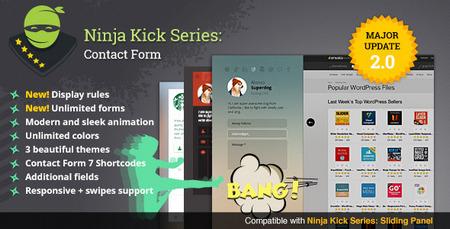 دانلود افزونه تماس با ما Ninja Kick v.2.2.4 برای وردپرس
