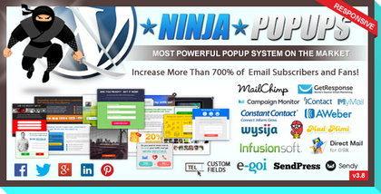 دانلود افزونه نینجا پاپ آپز Ninja Popups نسخه 3.9