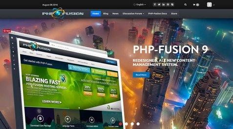 اسکریپت مدیریت محتوای فیوژن فارسی PHP Fusion