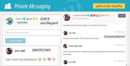 افزونه پیام خصوصی در یوزر پرو با Private Messages فارسی نسخه 3.0