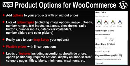 ایجاد فیلد های دلخواه محصولات ووکامرس با Product Options نسخه ۲.۴.۱