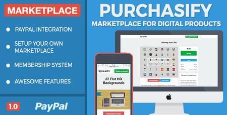 اسکریپت راه اندازی مارکت محصولات دیجیتالی Purchasify